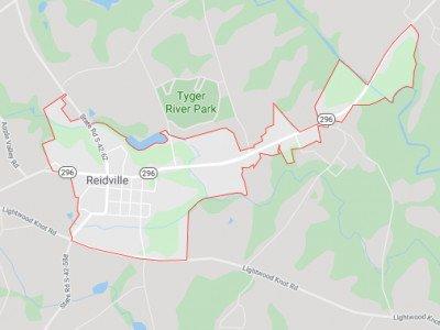 Reidville Map