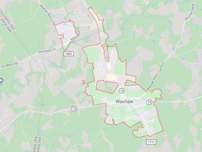 Waxhaw Map